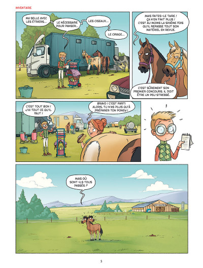 Page 3 À cheval ! tome 3