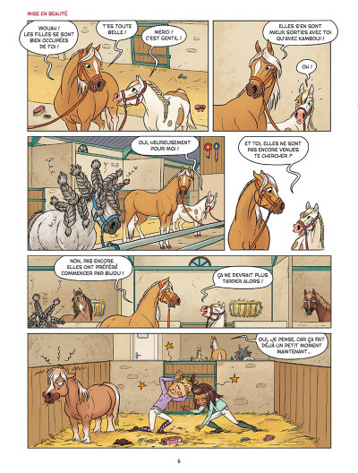 Page 4 À cheval ! tome 3