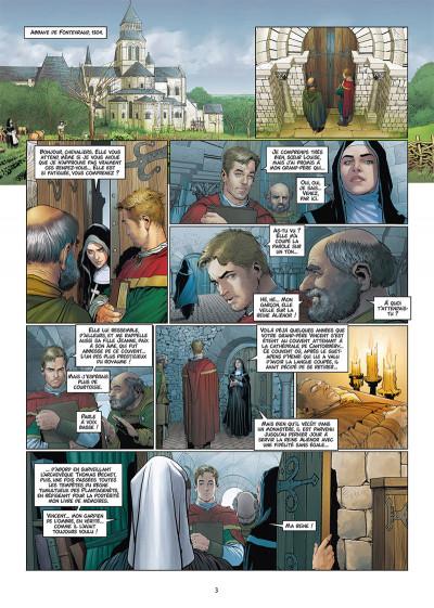 Page 1 Les reines de sang - Aliénor, la légende noire tome 6