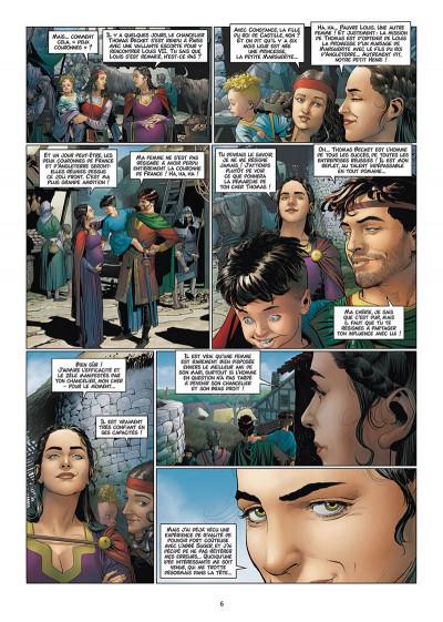 Page 4 Les reines de sang - Aliénor, la légende noire tome 6