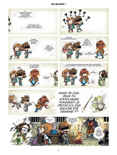 Page 1 Les légendaires - parodia tome 2