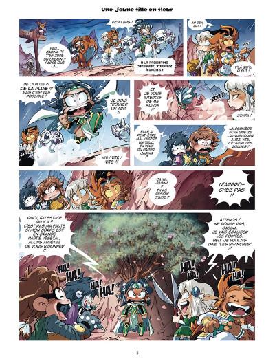 Page 3 Les légendaires - parodia tome 2