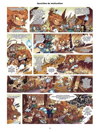 Page 4 Les légendaires - parodia tome 2