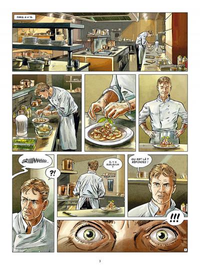 Page 1 Crimes gourmands - Un cadavre en toque