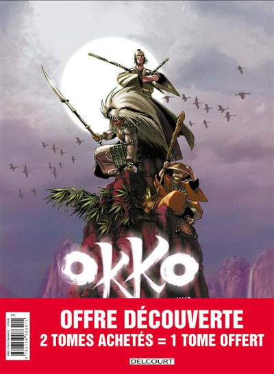 Couverture Okko - pack 30 ans tomes 1 à 3