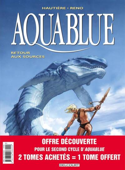 Couverture Aquablue - pack 30 ans tomes 12 à 14