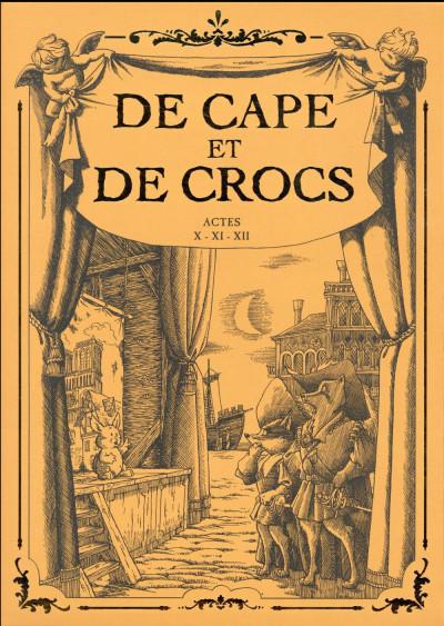 Couverture De cape et de crocs - Coffret tomes 10 à 12