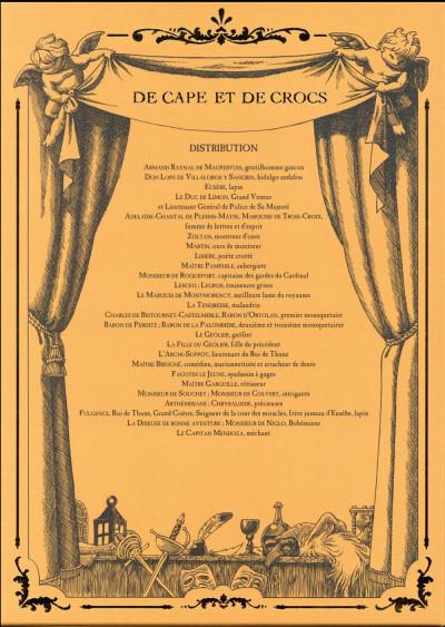 Dos De cape et de crocs - Coffret tomes 10 à 12