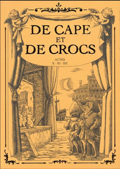Couverture De cape et de crocs - coffret tome 12 + cale