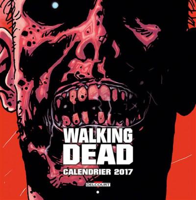 Couverture Walking dead - Calendrier 2017