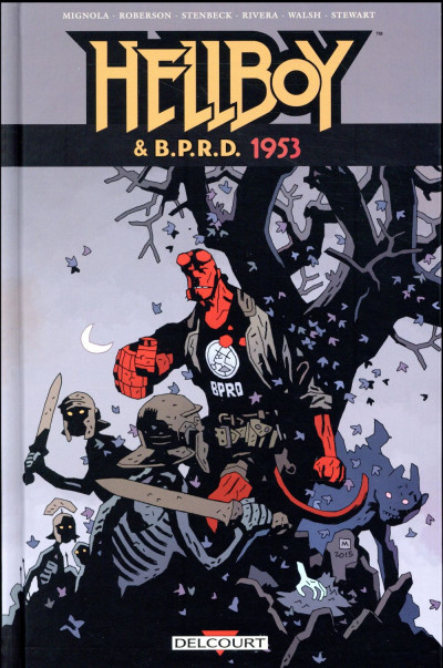Couverture Hellboy & B.P.R.D. tome 2