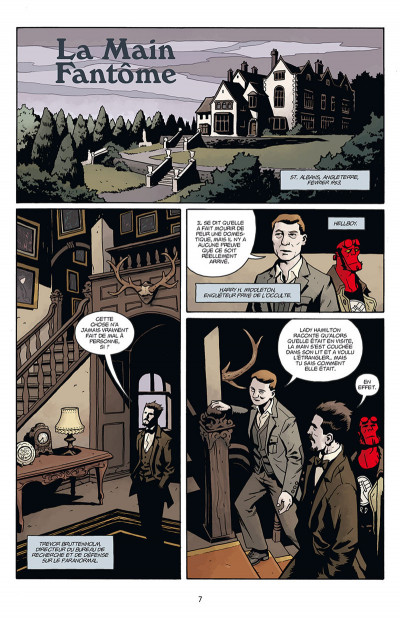 Page 1 Hellboy & B.P.R.D. tome 2