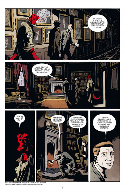 Page 2 Hellboy & B.P.R.D. tome 2