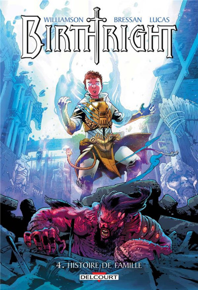 Couverture Birthright tome 4