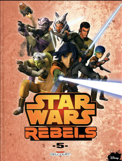 Couverture Star Wars - Rebels tome 5