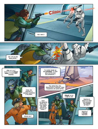 Page 4 Star Wars - Rebels tome 5