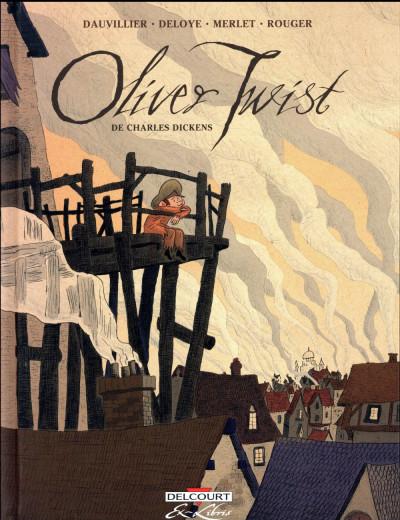 Couverture Oliver Twist - intégrale
