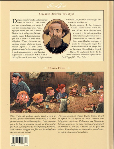 Dos Oliver Twist - intégrale