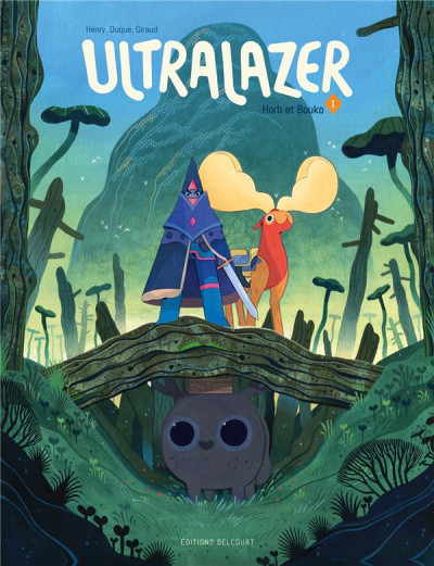 Couverture Ultralazer tome 1