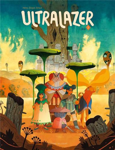 Couverture Ultralazer tome 2