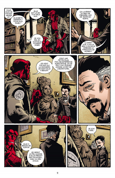Page 3 B.P.R.D. origines tome 3