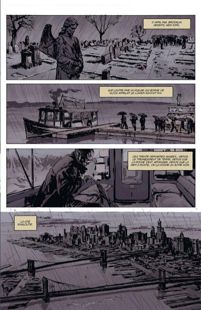 Page 1 Joe Golem, détective de l'occulte tome 1