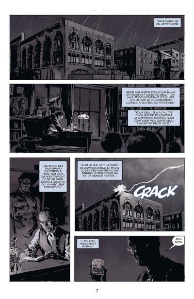 Page 3 Joe Golem, détective de l'occulte tome 1