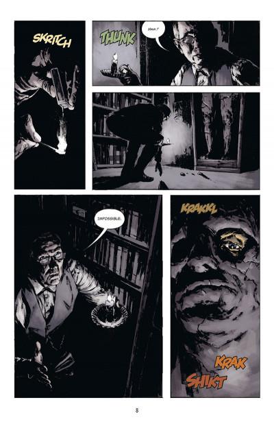 Page 4 Joe Golem, détective de l'occulte tome 1