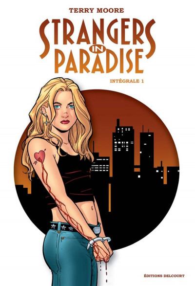 Couverture Strangers in paradise - intégrale tome 1