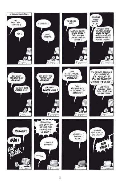 Page 4 Strangers in paradise - intégrale tome 1