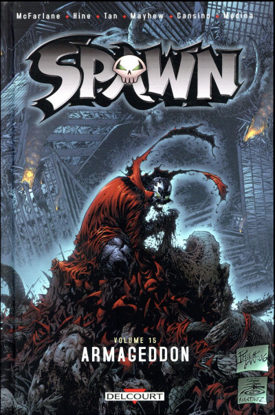 Couverture Spawn tome 15