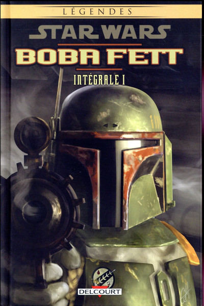 Couverture Star Wars - Boba Fett - intégrale tome 1