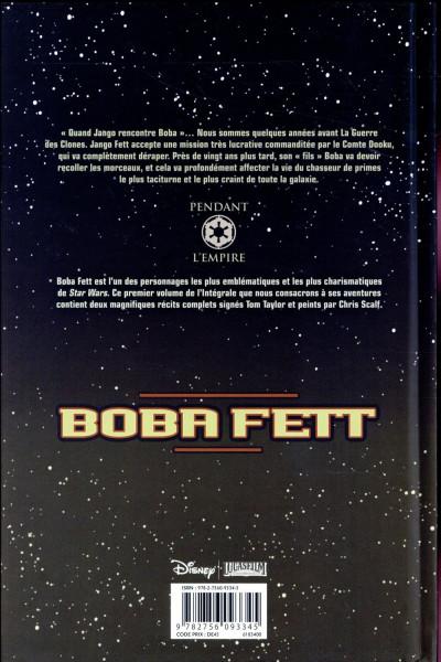 Dos Star Wars - Boba Fett - intégrale tome 1