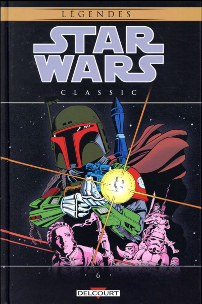 Couverture Star Wars - classic tome 6