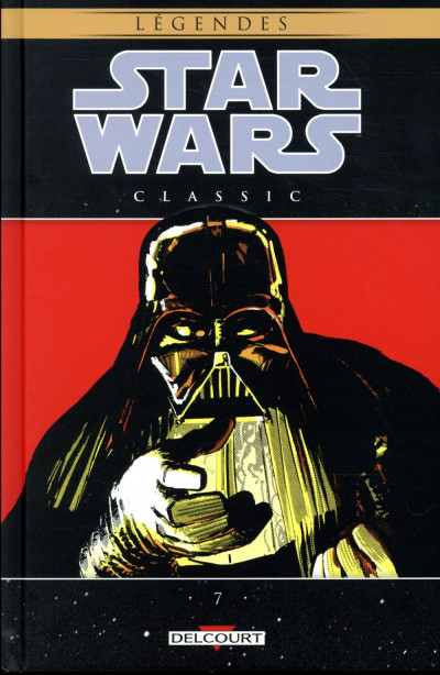 Couverture Star wars classic tome 7