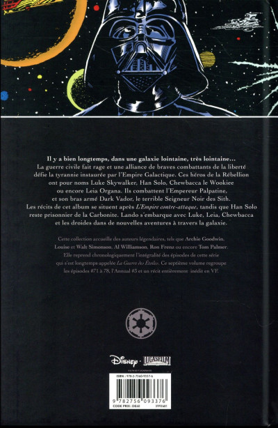 Dos Star wars classic tome 7