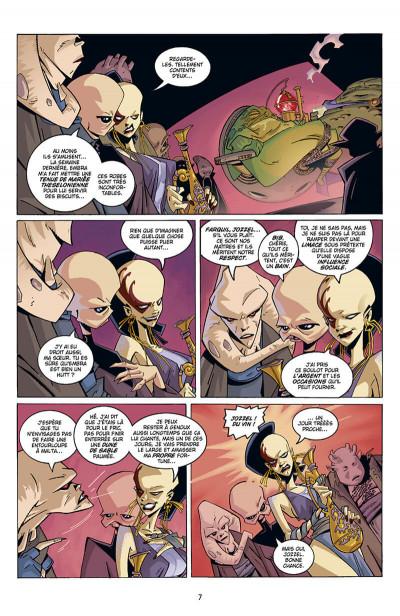 Page 8 Star wars - Icônes tome 5 - Han, Lando & Boba