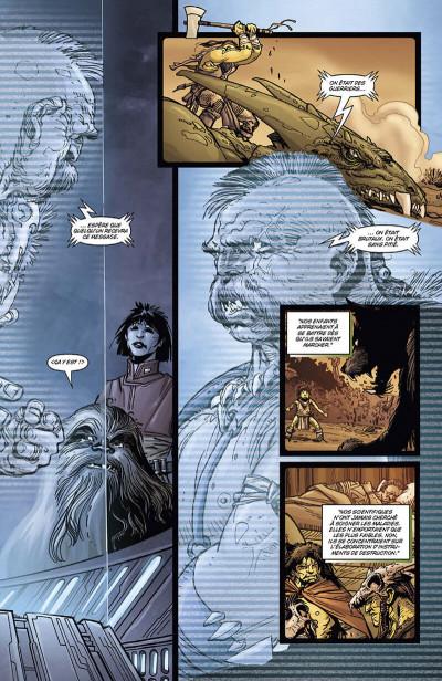 Page 8 Star Wars - invasion - intégrale