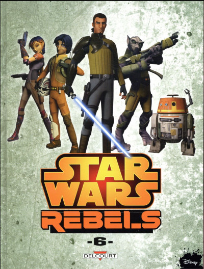 Couverture Star wars - Rebels tome 6
