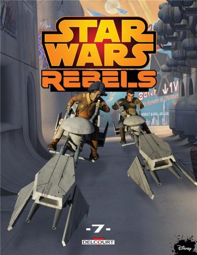 Couverture Star wars - rebels tome 7