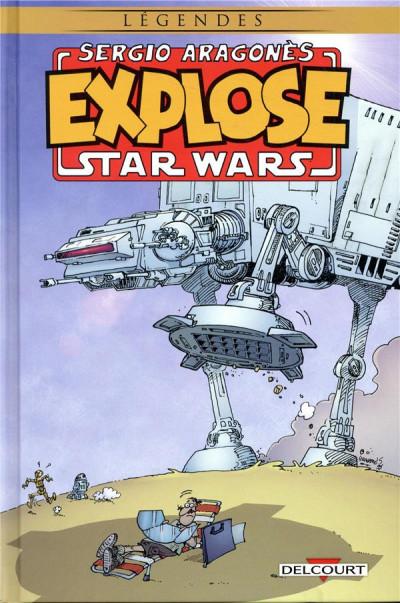 Couverture Sergio Aragonès explose Star Wars