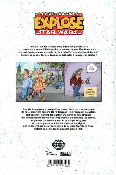 Dos Sergio Aragonès explose Star Wars