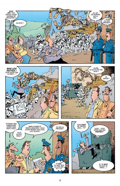 Page 6 Sergio Aragonès explose Star Wars