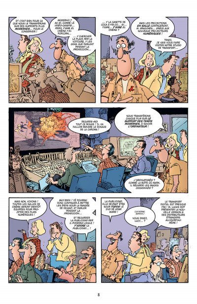 Page 8 Sergio Aragonès explose Star Wars