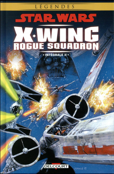 Couverture Star Wars - X-Wing Rogue Squadron - intégrale tome 2