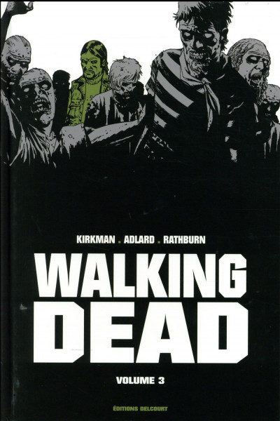 Couverture Walking Dead - prestige tome 3