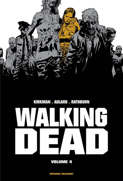Couverture Walking dead - prestige tome 4