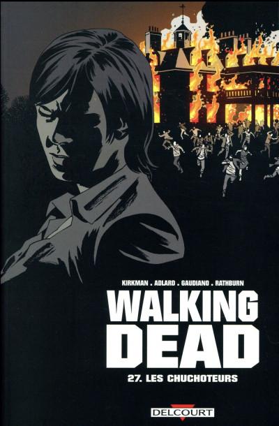 Couverture Walking dead tome 27 + ex-libris offert
