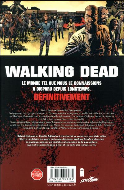 Dos Walking dead tome 27 + ex-libris offert