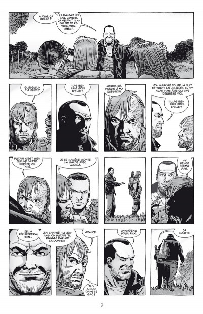 Page 3 Walking dead tome 27 + ex-libris offert